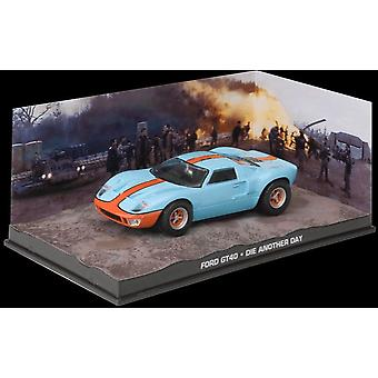 Ford GT40 Diecast Model Car from James Bond Die Another Day