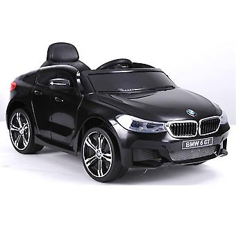 Barnas elektrisk bil BMW 6GT EVA dekk mykt gummi skinn sete lisensiert 2x 35 watt