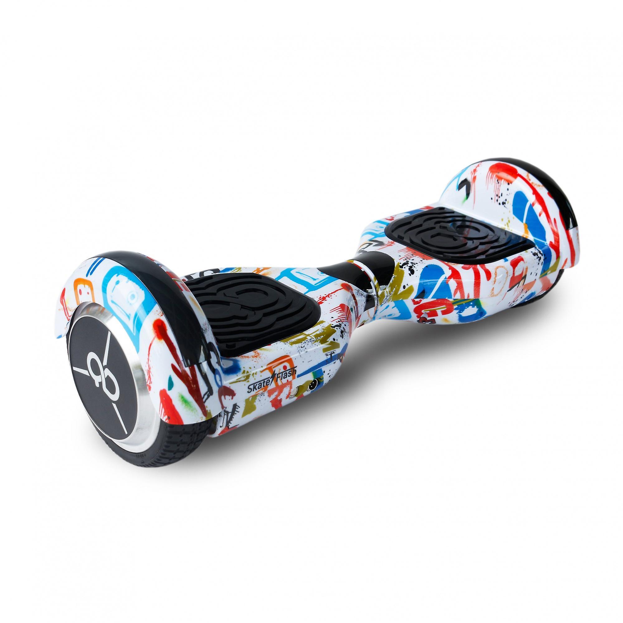Hoverboard Skateflash start straat dans