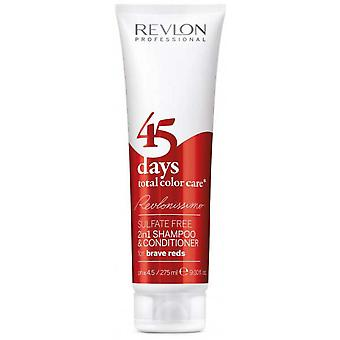 Color Care 45 Días Champú y Brave Reds Care - Red Color