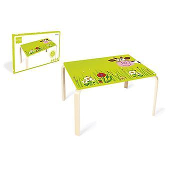 Scratch Lasten Pöytä Marie - Lehmä