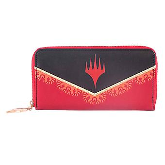 Magic The Gathering Purse Chandra Logo new Official Black Zip Around