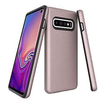 For Samsung Galaxy S10 Case, Armour Rose Gold Protective Durable Phone Cover