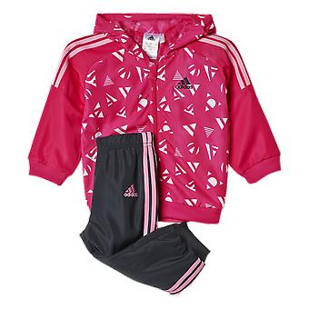 Adidas Infants Full Zip Hoody Woven Set