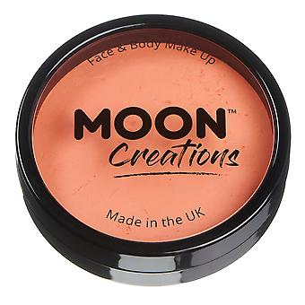 Créations de lune - Visage Pro - Pots de gâteau de peinture de corps - abricot