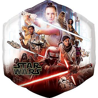 Anagram Star Wars Rise of Skywalker Supershape Foil Balloon