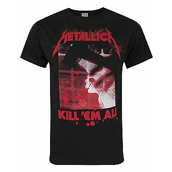 Amplified Metallica Kill Them All Men&s T-Shirt