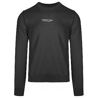 Marshall Artist Marshall Artist Black Crew Neck Sweatshirt