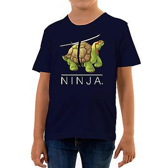 Reality glitch shelled ninja kids t-shirt