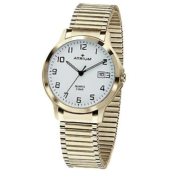 ATRIUM men's watch watch stainless steel gold coloured A12-60 drawstring
