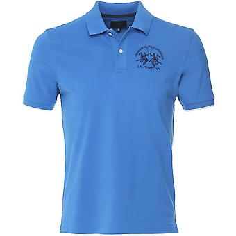 La Martina Regular Fit Pique Polo Shirt