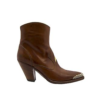 Golden Goose G36ws728a8 Kvinnor & Apos; s Brown Suede Ankle Boots