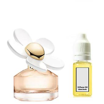 Marc Jacobs Daisy Love For Her Inspired Fragrance 100ml Refill Essential Diffuser Oil