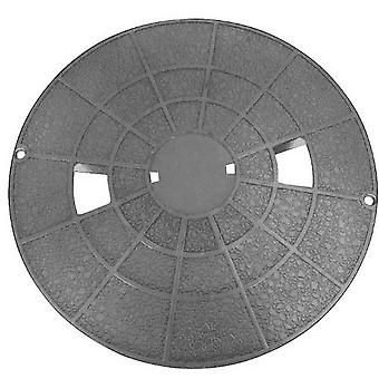 Pentair 510327 Dark Gray Deck Lid and Collar Assembly with Screws