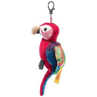 Steiff Key chaîne Papagaai 9 cm