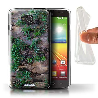 STUFF4 Gel TPU Case/Cover for LG L90/D405/Plant/Leaves/Tree Bark
