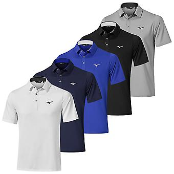 Mizuno Mens 2020 Quick Dry Performance Wicking Short Sleeve Golf Polo Shirt