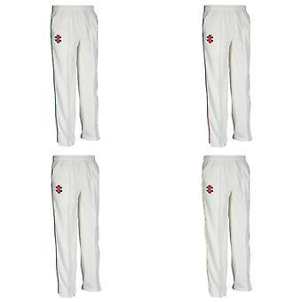 Gray-Nicolls crianças/crianças Matrix Cricket calças (Pack de 2)