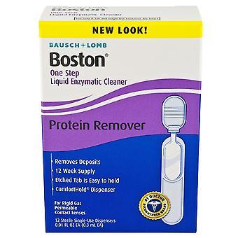 Bausch + Lomb Boston un pas lichid enzimatic Cleaner, 12 ea
