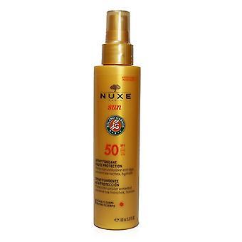 Nuxe Sun High Protection Fontant Spray Spf 50 - Voor gezicht en Lichaam - 150ml/5oz