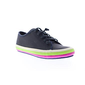 Camper Portol Damen Blau Canvas Low Top Lace Up Euro Sneakers Schuhe