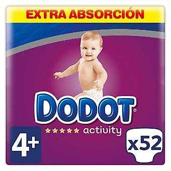 Dodot Activity Extra Diapers Size 4 with 52 Units