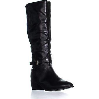 Karen Scott KS35 Fayth Below The Knee Riding Boots, Black, 6.5 US