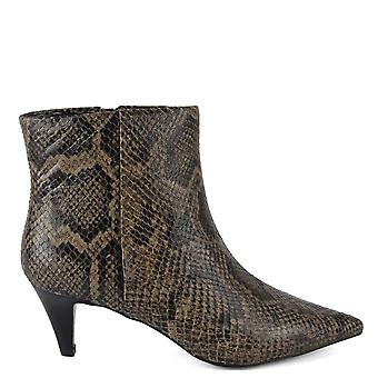 Ash CAMERON Boots Snake Print Leather