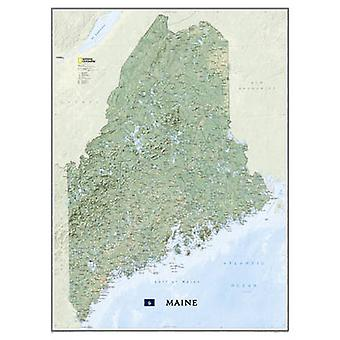 Maine - Tubed - Wall Maps U.S. by National Geographic Maps - 978159775