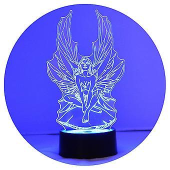 魔法仙女颜色改变LED丙烯酸灯