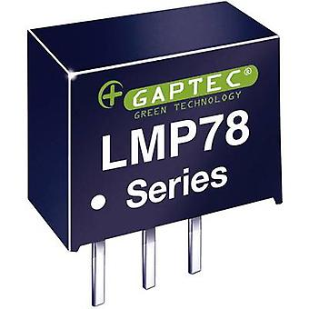 Gaptec LMP78_05-1.5 DC/DC converter (print) 24 V DC 5 V DC 1500 mA 7,5 W Nr. van de uitgangen: 1 x