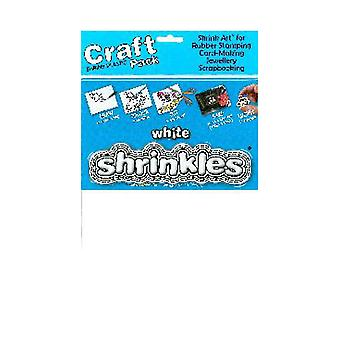 Shrinkles A4 Craft Pack - White Shrinkles, 6 Sheets
