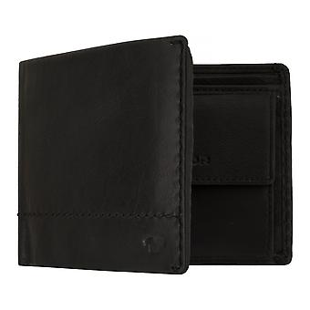 TOM TAILOR KAI men's purse wallet purse with RFID protection black 7643