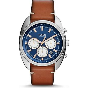 Fossil CH3045 Quartz Stainless Steel and Leather Men's Watch