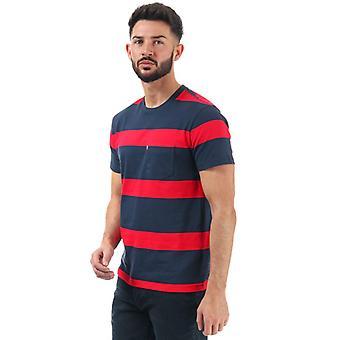 Mænd's Levis Sunset Pocket T-shirt i blå