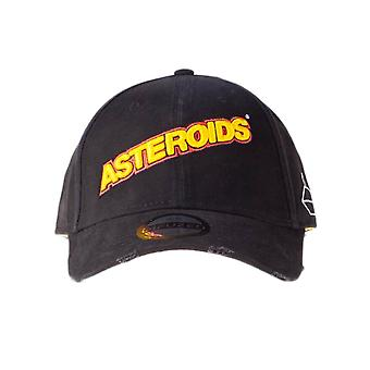 Atari Asteroids Embroidered Logo Baseball Cap