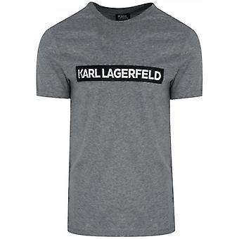 Lagerfeld Grey Logo T-Shirt