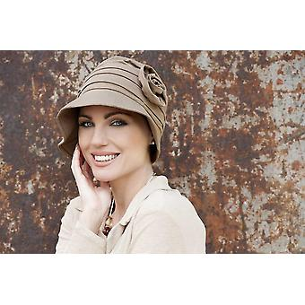 Sun Hat for Cancer Patients - Rosabella Taupe