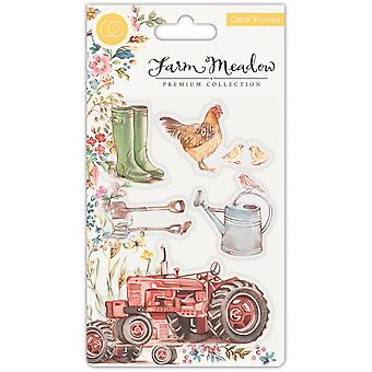 Craft Consortium Farm Meadow Clear Stamps