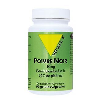 Schwarzer Pfeffer 10 mg - Standardisierter Extrakt 95% Piperin None