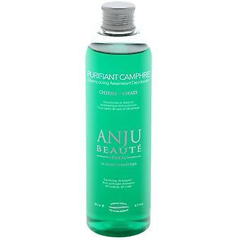 Anju Beauté Champú para Perros y Gatos Limpiador-Desodorante Purifiant Camphre