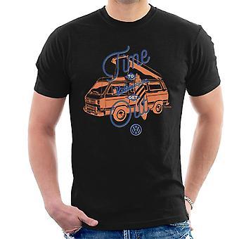 Volkswagen Time To Get Out T3 Camper Men's T-Shirt