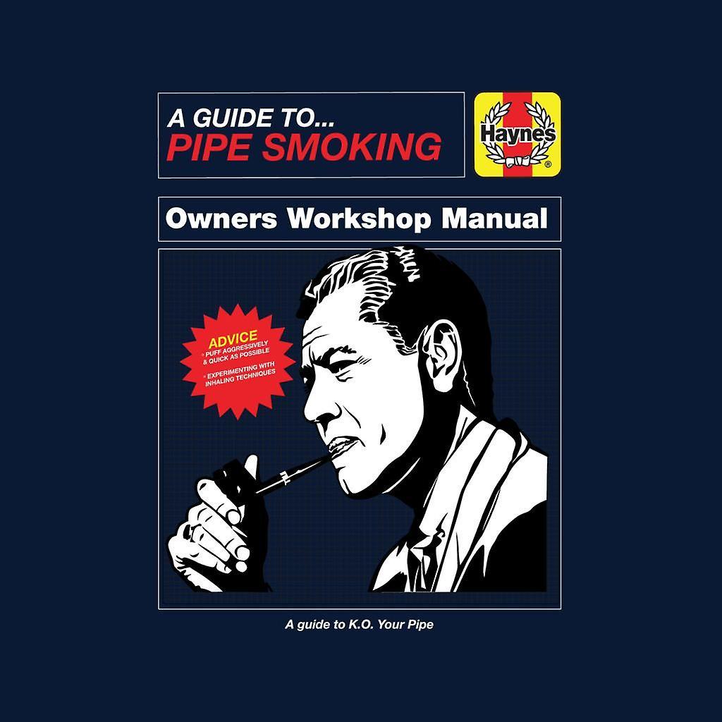 Haynes Pipe Smoking Workshop Manual Men's Chaqueta Varsity