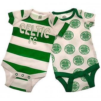 Celtic 2 Pack Bodysuit Newborn