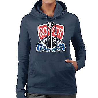 Rover Viking Longship British Motor Heritage Women's Hooded Sweatshirt