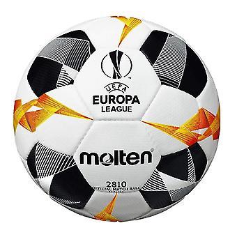 Gesmolten UEFA Europa League 2019/20 Officieel 2810 Replica Voetbal Wit/Zwart