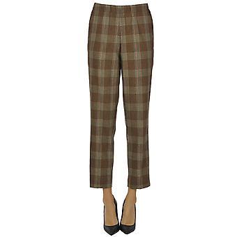Kiltie Ezgl187028 Women's Brown Wool Pants