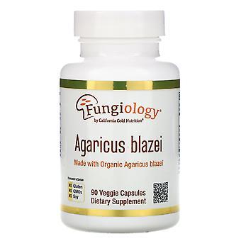 California Gold Nutrition, Agaricus Blazei, Full Spectrum, Organic Certified, 90