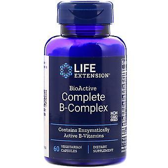 Life Extension, BioActive Complete B-Complex, 60 vegetarische capsules