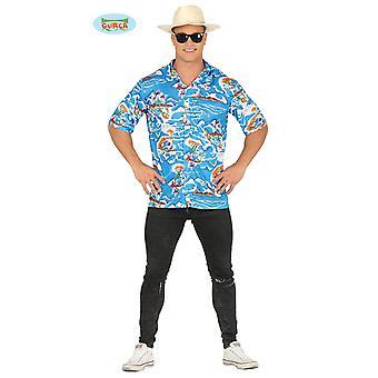 Coloré chemise hawaïenne pour hommes